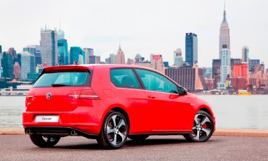 2015 VW Golf TSI 3dr Joins TDI and GTI in Brooklyn en Route to Detroit Show 17