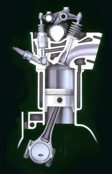 Automotive Artist Showcase -- 3D Mechanical Illustrator Hisashi Saito -- 30 Stunning See-Through Honda Designs 10