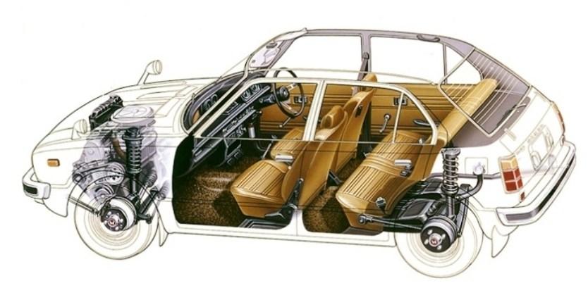 Automotive Artist Showcase -- 3D Mechanical Illustrator Hisashi Saito -- 30 Stunning See-Through Honda Designs 7