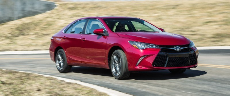Car-Revs-Daily.com 2015 Toyota Camry Redesign Delivers Greater Chassis Strength, Wider Stance and More LED Style 35