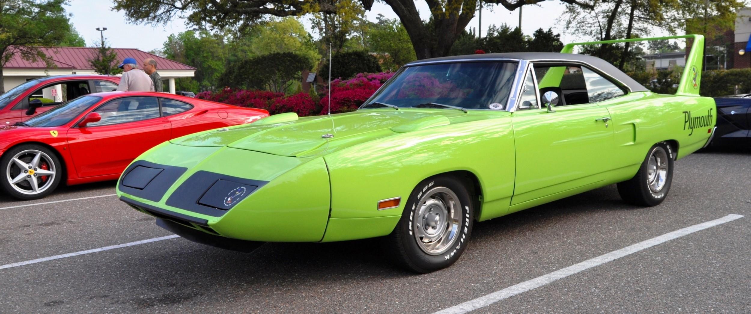 1970 Plymouth Road Runner Superbird Car
