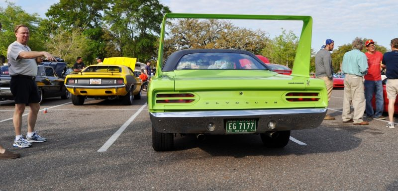 Classic Showcase -- 1970 Plymouth Road Runner Superbird at Charleston Cars Coffee 13
