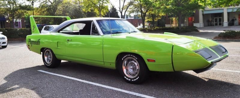Classic Showcase -- 1970 Plymouth Road Runner Superbird at Charleston Cars Coffee 26