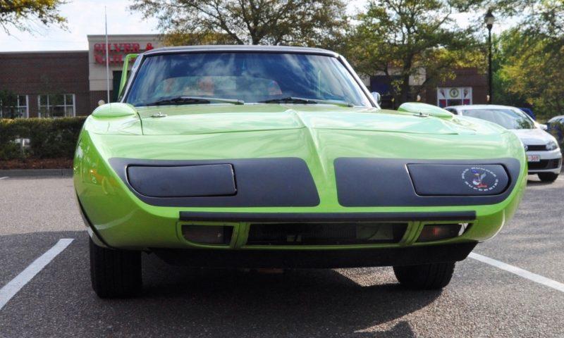 Classic Showcase -- 1970 Plymouth Road Runner Superbird at Charleston Cars Coffee 30
