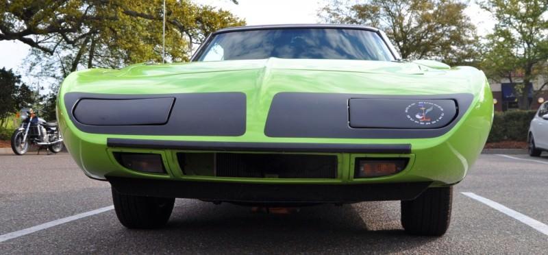 Classic Showcase -- 1970 Plymouth Road Runner Superbird at Charleston Cars Coffee 32