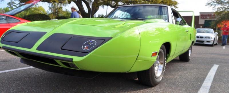 Classic Showcase -- 1970 Plymouth Road Runner Superbird at Charleston Cars Coffee 35