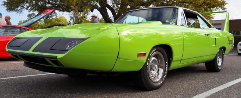 Classic Showcase -- 1970 Plymouth Road Runner Superbird at Charleston Cars Coffee 36