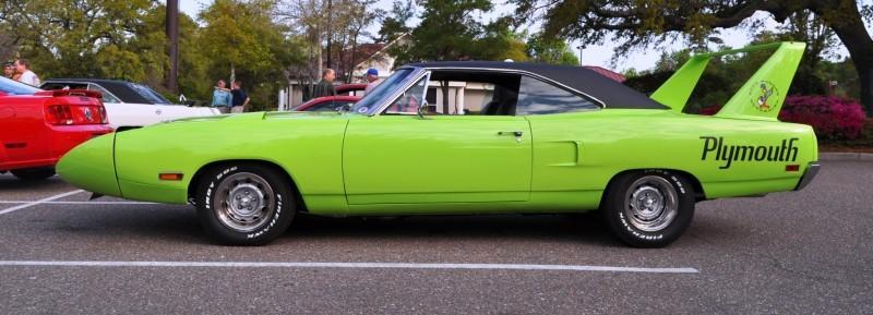 Classic Showcase -- 1970 Plymouth Road Runner Superbird at Charleston Cars Coffee 4