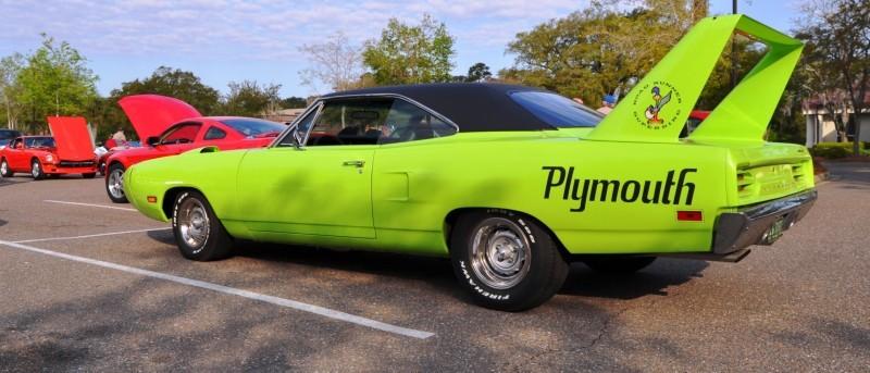 Classic Showcase -- 1970 Plymouth Road Runner Superbird at Charleston Cars Coffee 8
