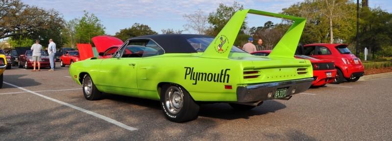 Classic Showcase -- 1970 Plymouth Road Runner Superbird at Charleston Cars Coffee 9