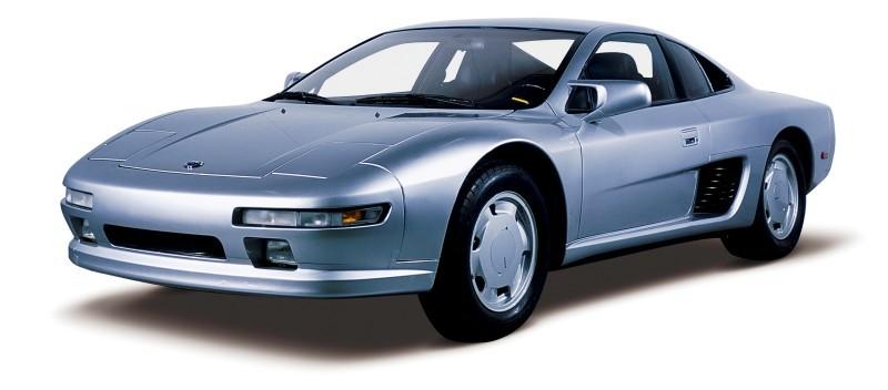 Concept Flashbacks 1978 Nissan DOME Zero and 1987 Nissan MID4 Type II 1