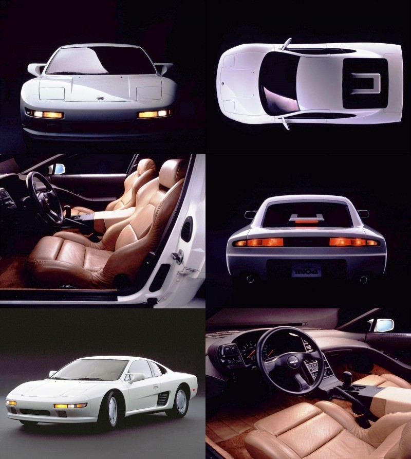Concept Flashbacks 1978 Nissan DOME Zero and 1987 Nissan MID4 Type II 6