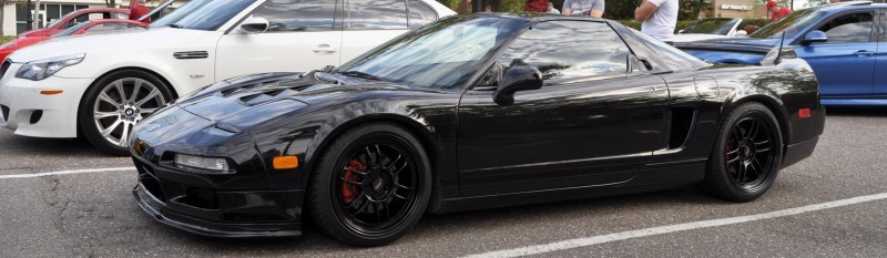 The NSX Effect -- Own One, And You Will Never Sell It -- Black NSX Series I and Red NSX-R Series II 2