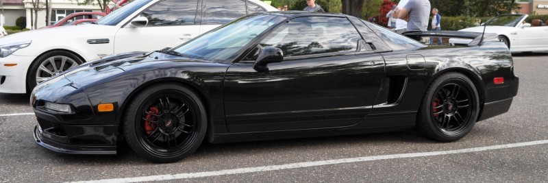 The NSX Effect -- Own One, And You Will Never Sell It -- Black NSX Series I and Red NSX-R Series II 3