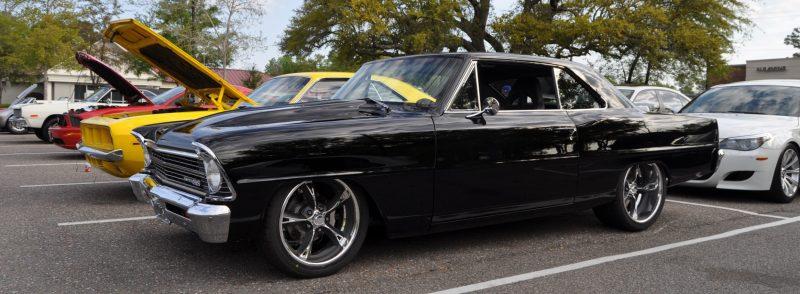 VIDEOS - Charleston Cars & Coffee - 1967 Chevy Nova, Drag-Prepped Hudson and 2002 Superformance Cobra 5