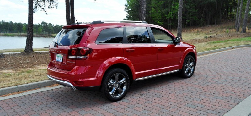 Road Test Review - 2014 Dodge Journey Crossroad - We Would Cross the Road to Avoid 12