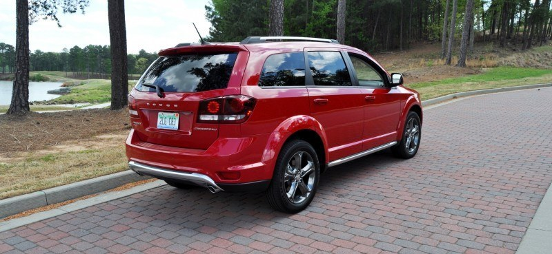 Road Test Review - 2014 Dodge Journey Crossroad - We Would Cross the Road to Avoid 13