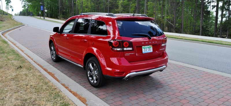 Road Test Review - 2014 Dodge Journey Crossroad - We Would Cross the Road to Avoid 19