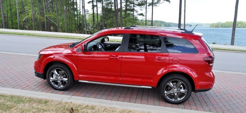 Road Test Review - 2014 Dodge Journey Crossroad - We Would Cross the Road to Avoid 24