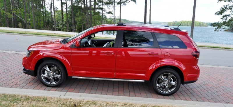 Road Test Review - 2014 Dodge Journey Crossroad - We Would Cross the Road to Avoid 25