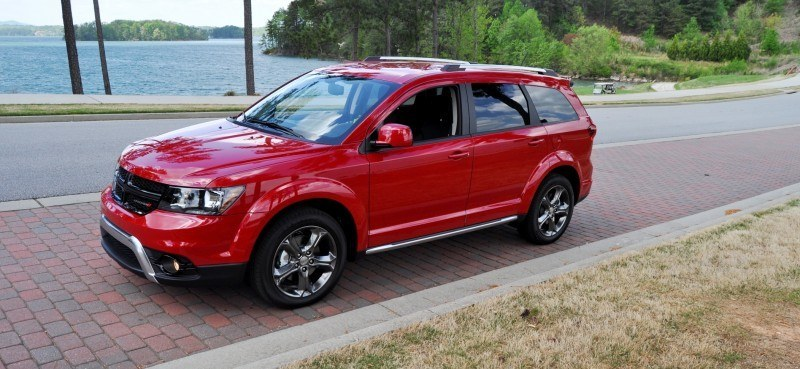 Road Test Review - 2014 Dodge Journey Crossroad - We Would Cross the Road to Avoid 29