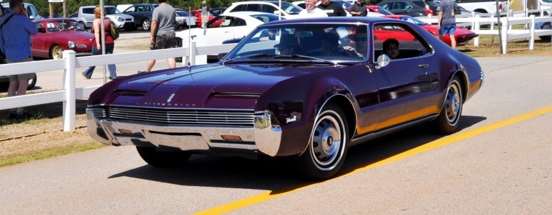 The Mitty's Most Curious Parade Lapper - 1966 Oldsmobile Toronado in Riddler Purple 2