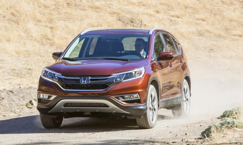 2015 Honda CR-V Revealed With More Torque, More Tech and New Touring Trim 11