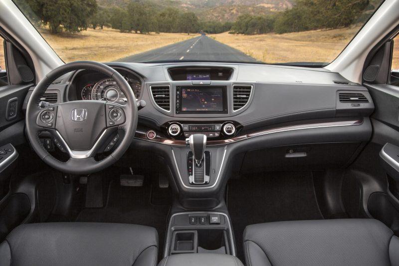 2015 Honda CR-V Revealed With More Torque, More Tech and New Touring Trim 3
