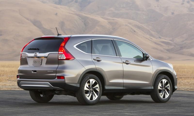 2015 Honda CR-V Revealed With More Torque, More Tech and New Touring Trim 32