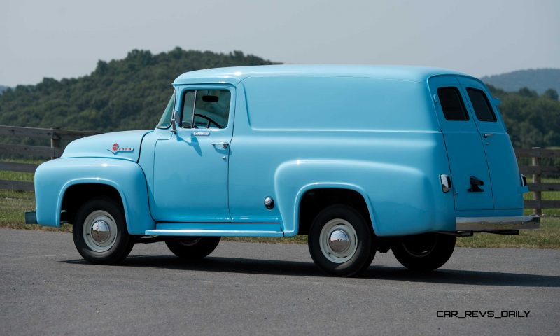 1956 Ford F-100 Panel Truck 2