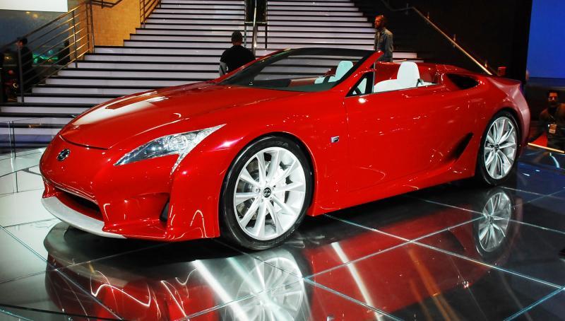 2007 Lexus LF-A Roadster 1