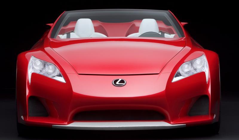2007 Lexus LF-A Roadster 3