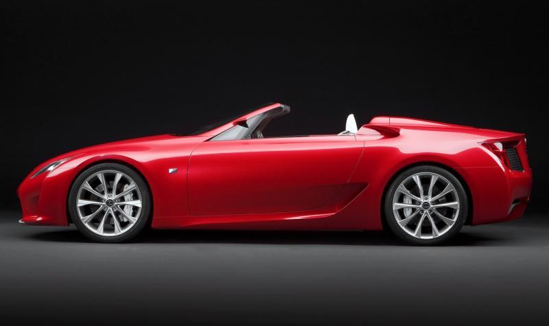 2007 Lexus LF-A Roadster 4