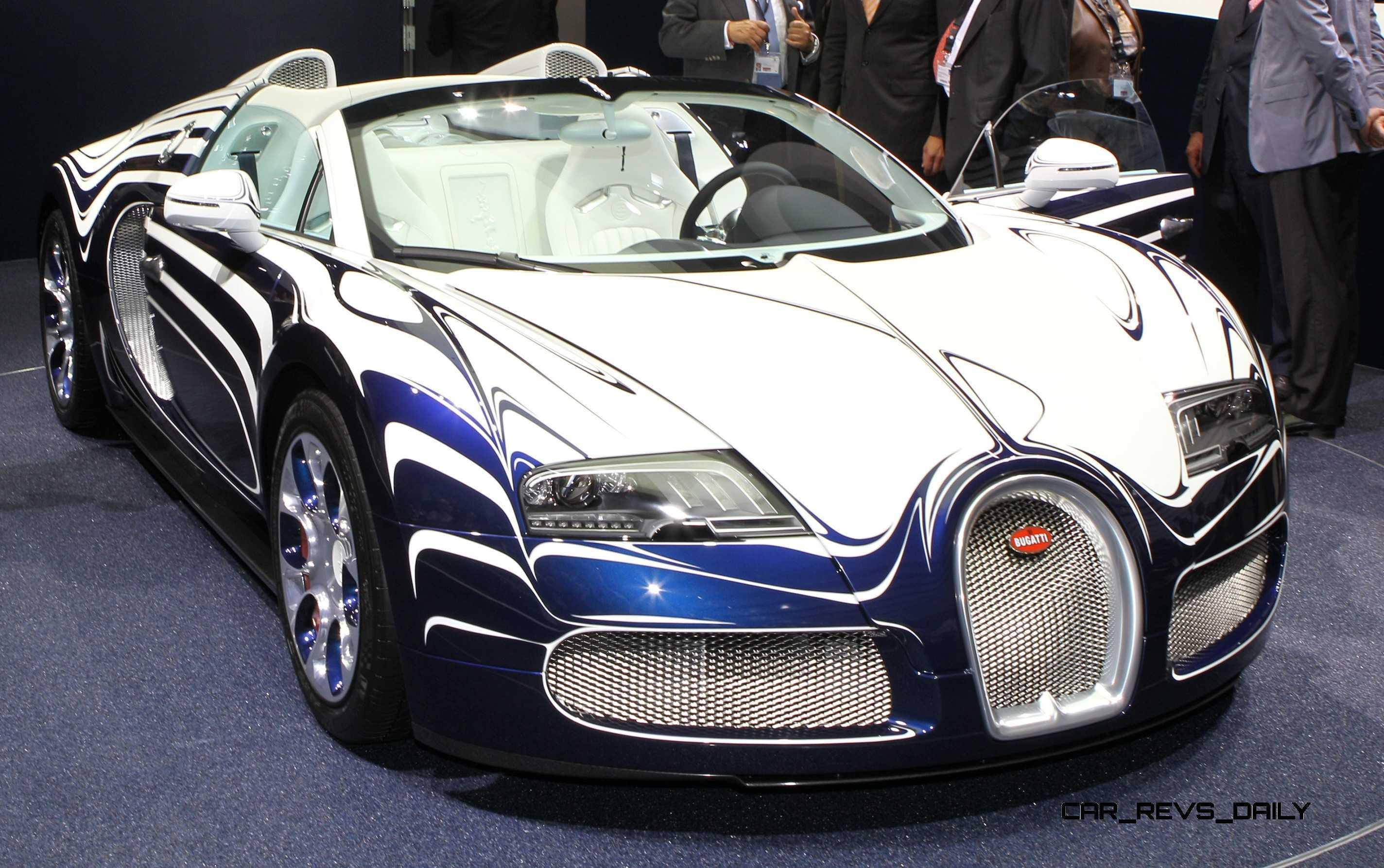 Hypercar Hall of Fame  2011 Bugatti Veyron LOr Blanc