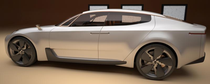 2011 Kia GT 3