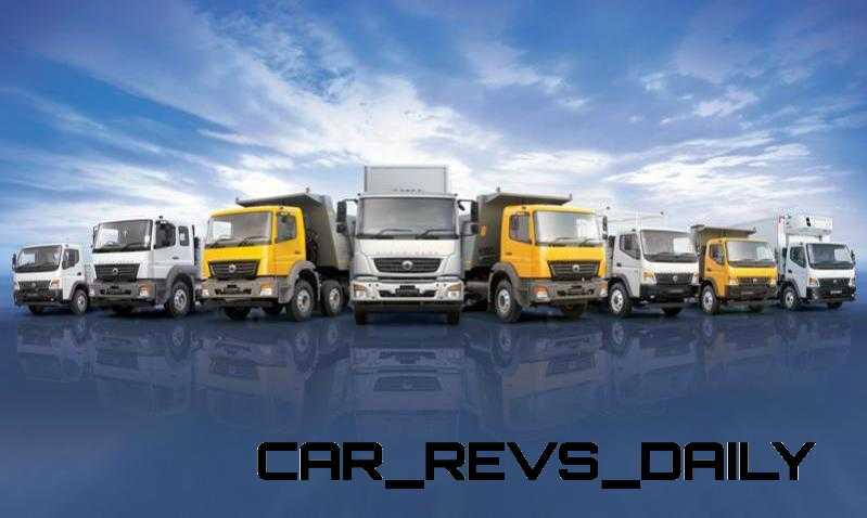 2014 BharatBenz Trucks 1