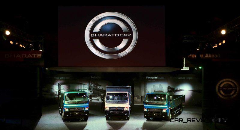 2014 BharatBenz Trucks 27