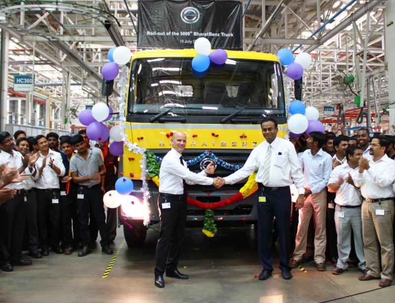 2014 BharatBenz Trucks 28