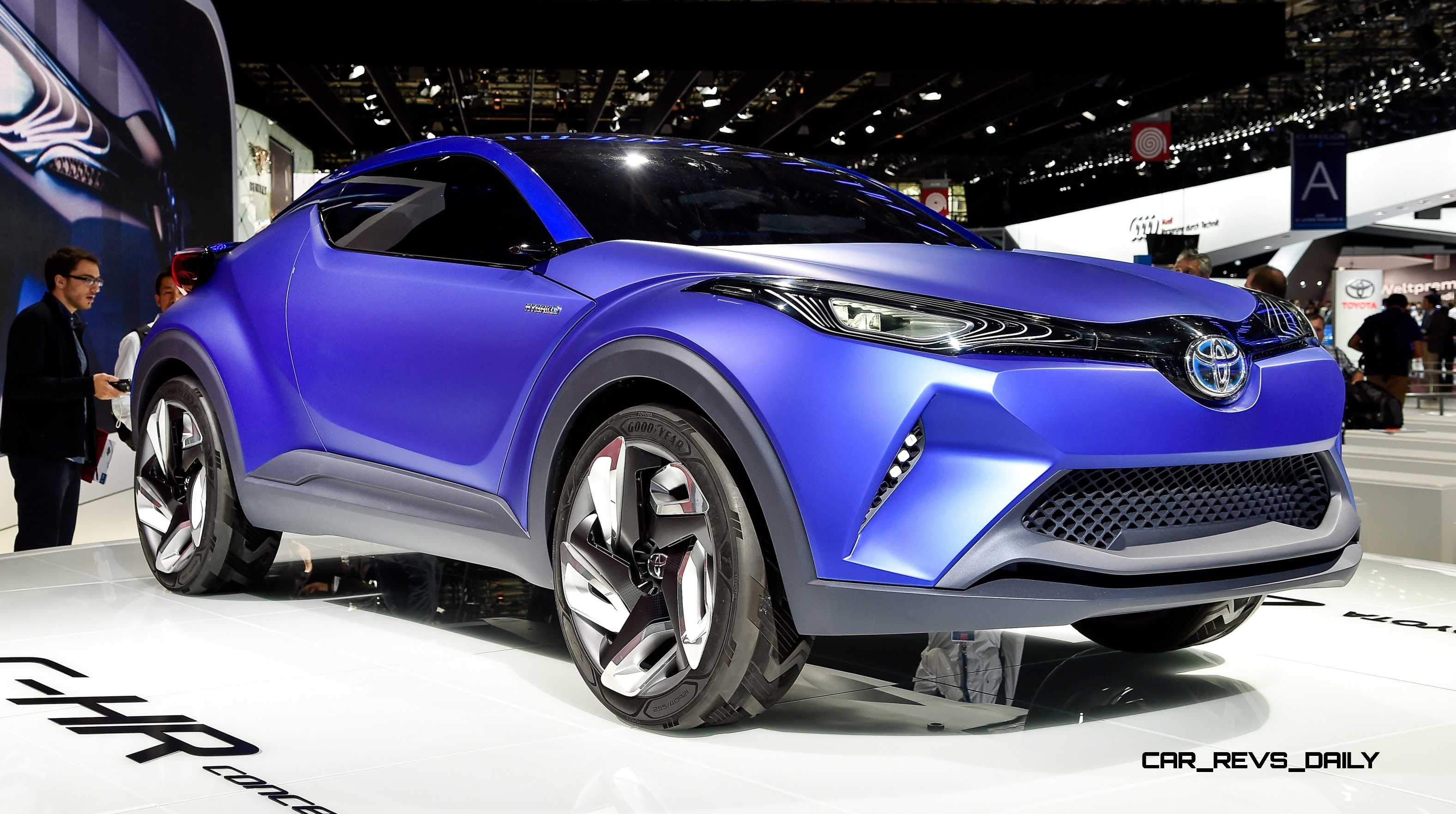 Update1 With 30 New Photos  2014 Toyota CHR Concept