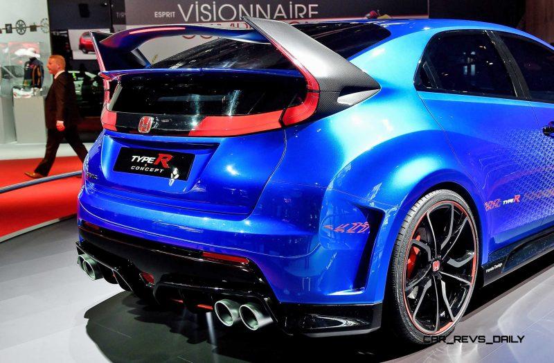 2015 Honda Civic Type R Concept Two Makes Paris Debut 10