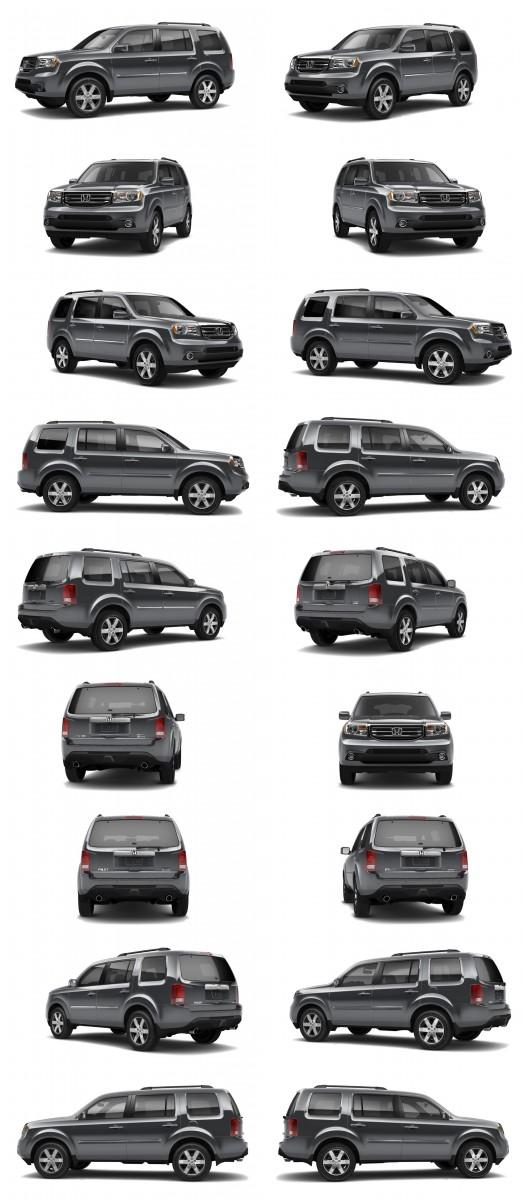 2015 Honda Pilot Colors 65-tile dark steel metallic