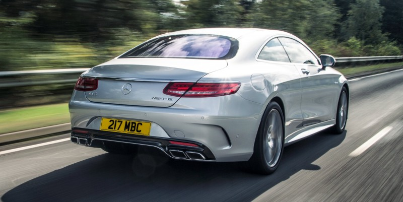 2015 Mercedes-Benz S63 AMG Coupe 5
