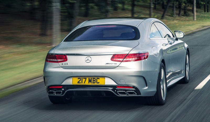 2015 Mercedes-Benz S63 AMG Coupe 66