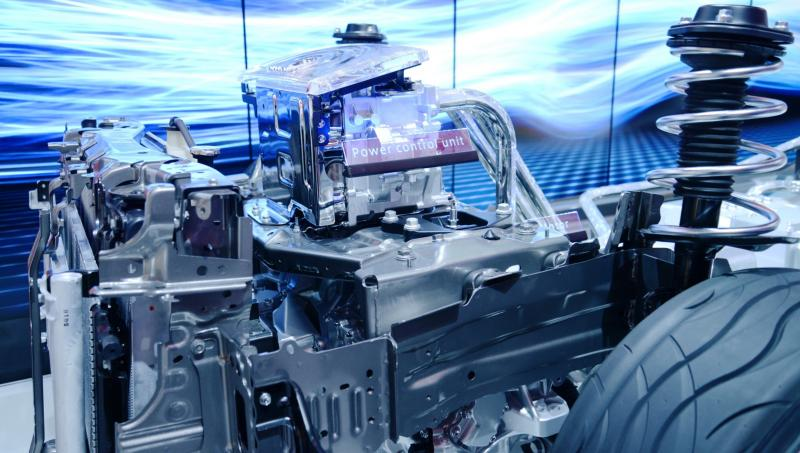2016 Toyota FCV Production Car 10