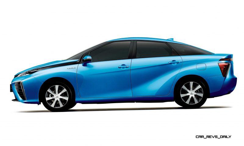 2016 Toyota FCV Production Car 16