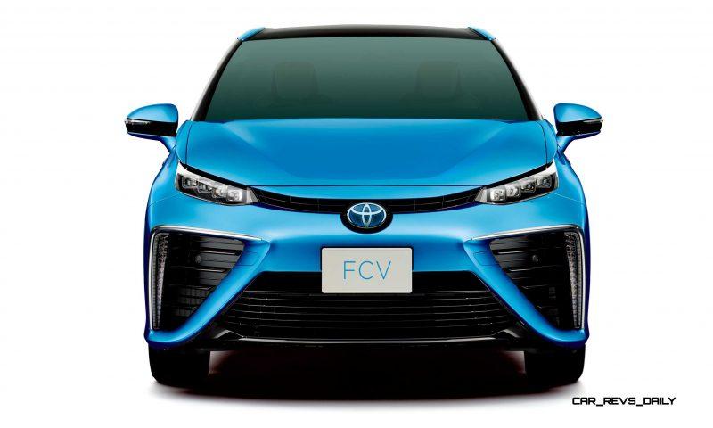 2016 Toyota FCV Production Car 17