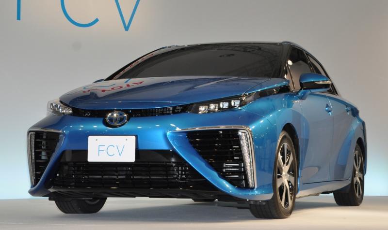 2016 Toyota FCV Production Car 19