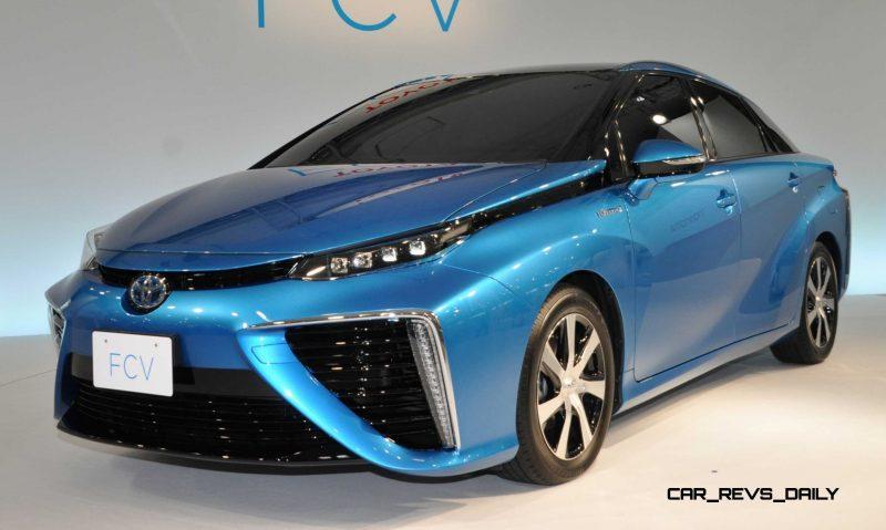 2016 Toyota FCV Production Car 20