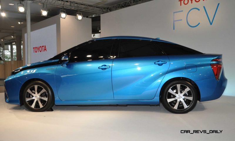 2016 Toyota FCV Production Car 22