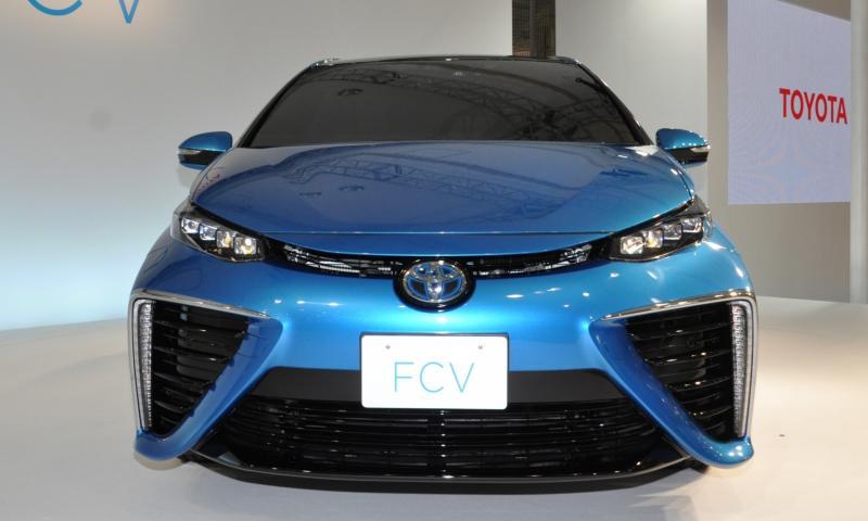 2016 Toyota FCV Production Car 23